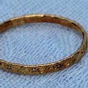 REDUCED Vintage 10K Gold Baby Ring