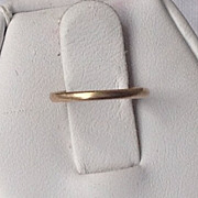 REDUCED Vintage 10K Gold Baby Ring