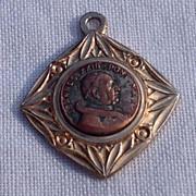 SALE Vintage Gold Tone Metal Joannes XXIII Ponte Max Medal
