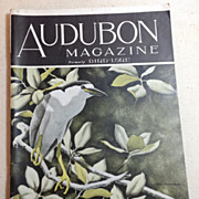 Audubon Magazine July - August  1944 Published By The National Audubon Society