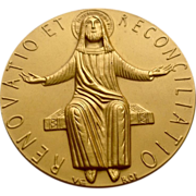 Pope Paul VI 1975 Holy Year Jubilee Medal