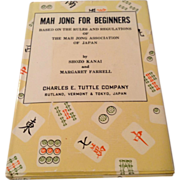 Vintage Mah Jong For Beginners