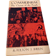 Vintage 1937 Booklet Communism The Opium Of The People By Fulton J. Sheen