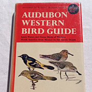 SALE 1957 Audubon Western Bird Guide By Richard H. Pough