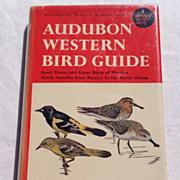 SALE 1957 Audubon Western Bird Guide By Richard H. Pough