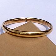 REDUCED Vintage Gold Filled Baby/Child  Bracelet