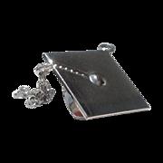 SALE Vintage Sterling. Silver Graduation Cap Charm