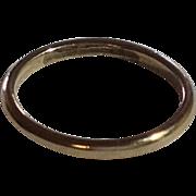 Vintage 10 K Gold Baby Ring