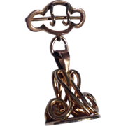 Victorian Gold Filled Pocket Watch Fob