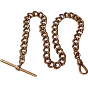 Vintage Gold Filled Pocket Watch Chain