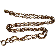 """Vintage Gold Filled 18"""" Chain"""