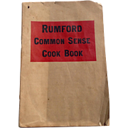 Vintage Rumford Common Sense Cook Book