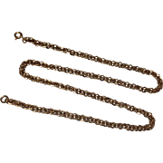 "Vintage Gold Filled 16"" Chain"