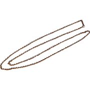 """Vintage 24 1/2"""" Yellow Gold Filled Chain"""
