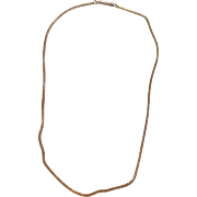 """Vintage 13"""" Child's Gold Filled Chain"""