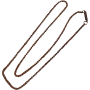 """Vintage 16"""" Yellow  Gold Filled Chain"""