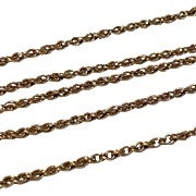 """Vintage Yellow Gold Filled 18"""" Chain"""