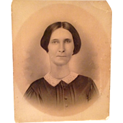 1820 Victorian Photograph  Of A Woman