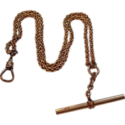 Vintage Gold Filled:Packet Watch Chain