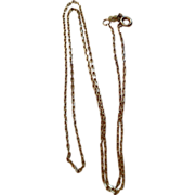 Vintage Gold  Filled Necklace Chain