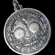 1921 Public School Athletic League Field Days Sterling Silver Medal