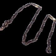Vintage Gold Filled Fancy Link Pocket Watch Chain