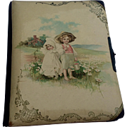 REDUCED Antique Victorian Celluloid Photo Album