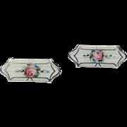REDUCED Vintage Sterling Silver Enamel Baby Pins