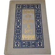 First Edition The Poetry Of The Psalms Henry Van Dyke