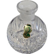 Vintage Waterford Crystal Perfume Bottle