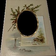 Victorian Photo Album Photo Page