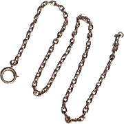 REDUCED Vintage 14 K Yellow Gold Chain