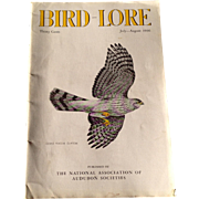 Vintage July - August 1936 Bird - Lore Magazine Published By The National Association Of ...