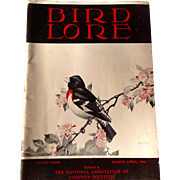 Vintage March - April 1938 Bird Lore Published By The National Association Of Audubon Societie