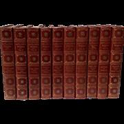 SOLD The Sahib Edition Of Rudyard Kipling Complete In Ten Volumes - Red Tag Sale Item