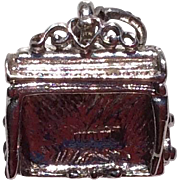 Vintage Sterling Silver Fireplace Charm