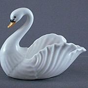Vintage Bone China Swan Dish