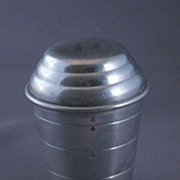 SOLD Vintage Mirro Aluminum Measuring Cup And Shaker