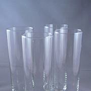 SALE Set Of Four Libbey Tall Drink Glasses