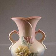 """Hull Vase 15-6 1/4""""  Magnolia Pattern"""