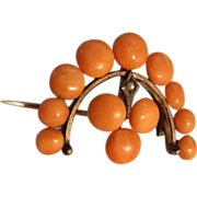 Fine Coral Brooch about 1920