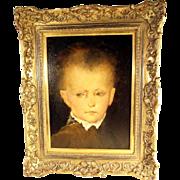 SOLD Fine Child  Portrait  ca. 1870