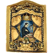 SALE Monastery Work Saint Aloysius Gonzaga 18/19th  Century