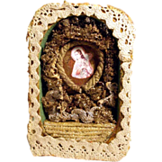 Late 19th Century Reliquary Saint Barbara