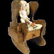 Pin Cushion Bobbin Holder with Doll