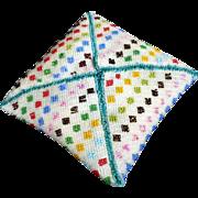 Pin Cushion Geometrical Patterns Bead Work