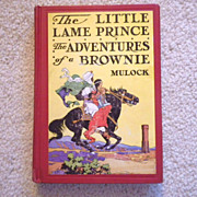 """Vintage Hardbound Book - """"The Little Lame Prince & The Adventures of a Brownie"""""""