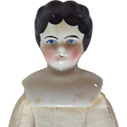 Antique China Shoulder Head Doll