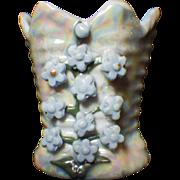 SALE Vintage Signed Elfinware Luster Toothpick or Vase
