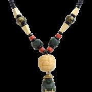 Vintage Asian Buddha Necklace